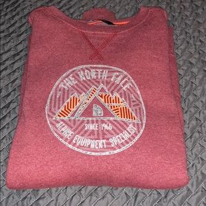 Men's crew neck North Face sweatshirt